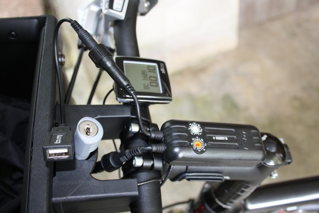 Bicycle Touring Charging System