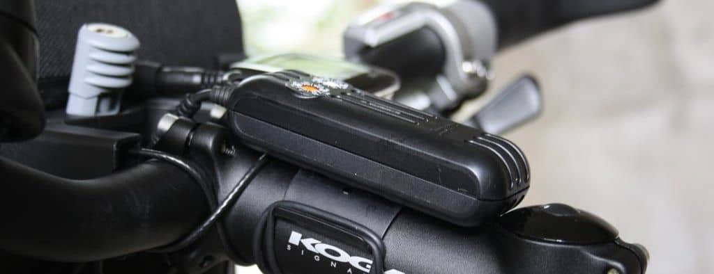 how to charge electronics bicycle touring