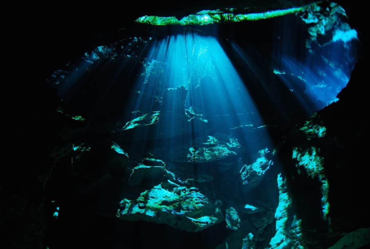 Scuba Diving Cenotes Yucatan Mexico