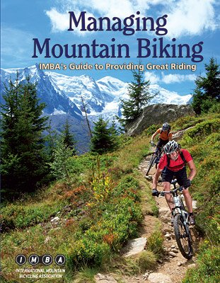 Mountain bike trail building book