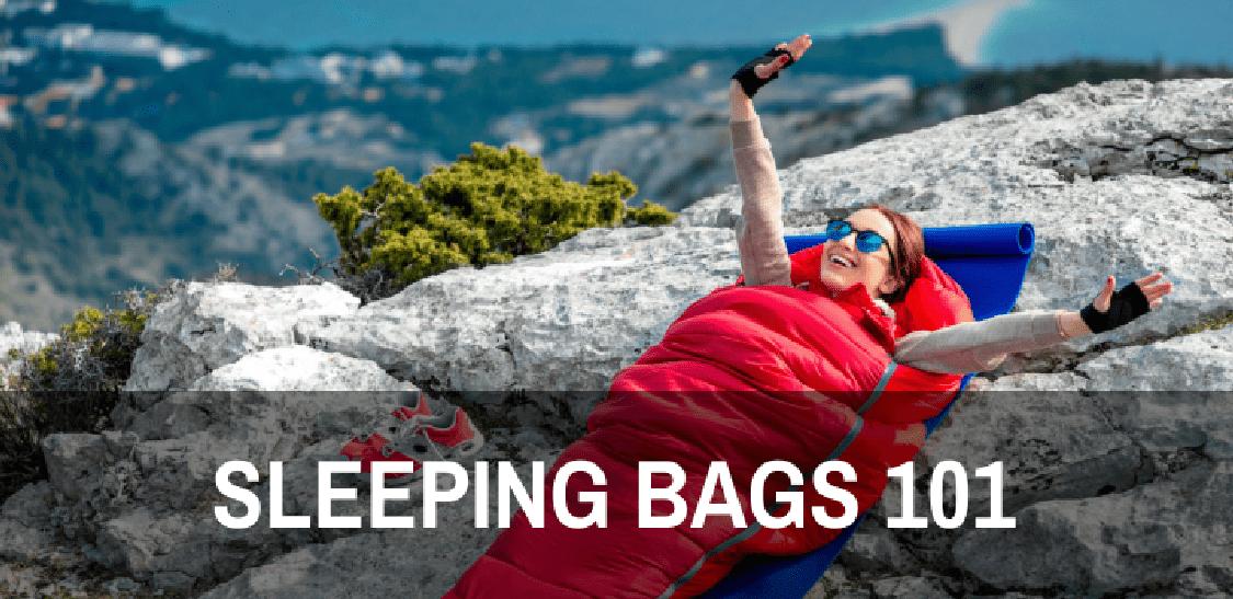 hiking sleeping bags