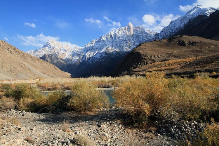 cycling Pamir Tajikystan