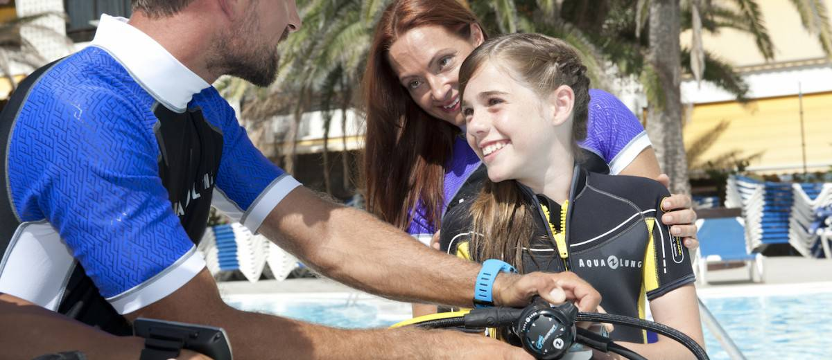 Learn to dive and how to become a certified diver