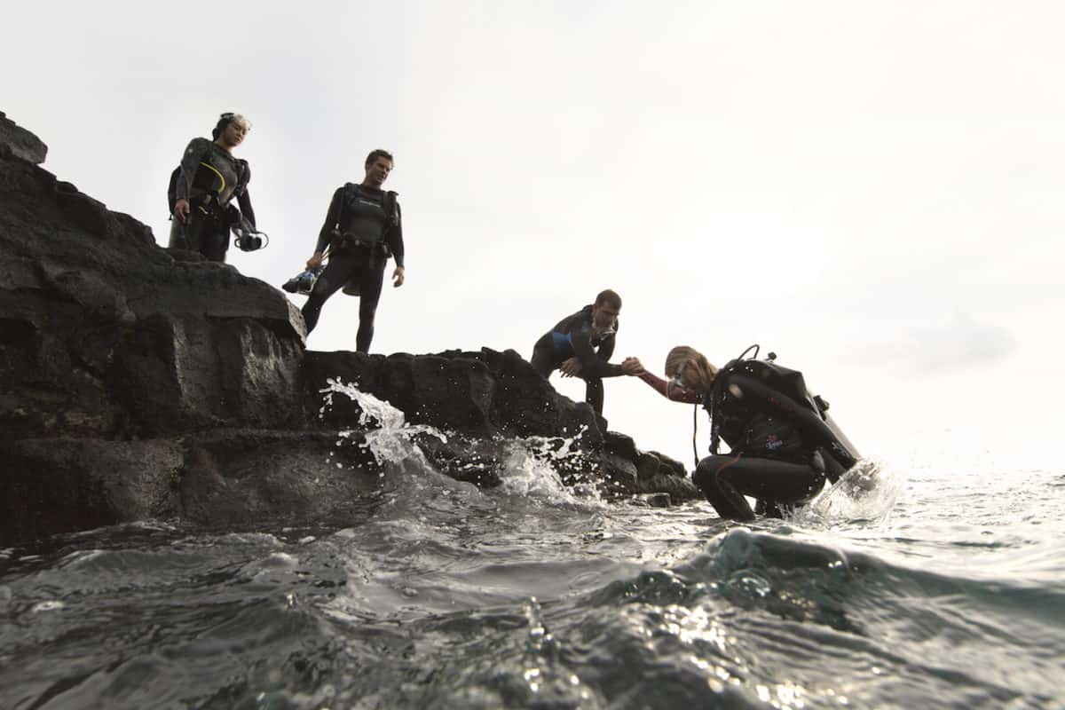 Emergencies skills rescue diver