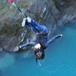 Bungy Jumping off the Kawarau Bridge in New Zealand