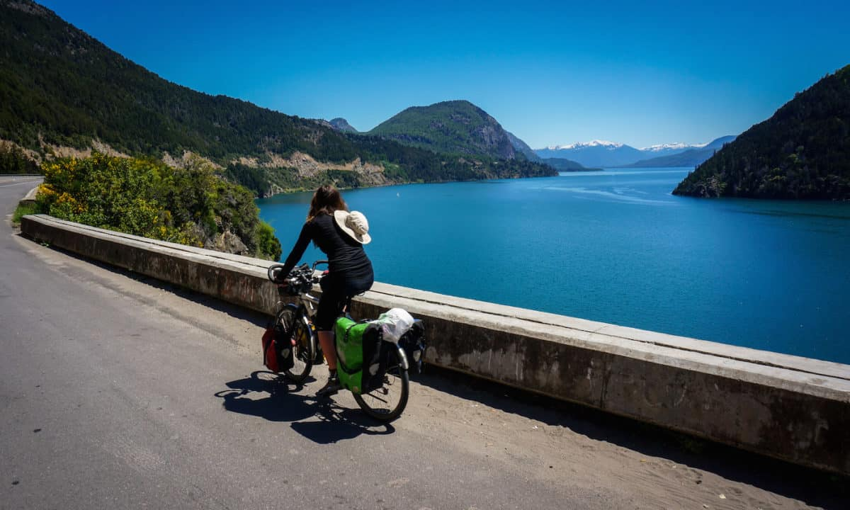 Cycling the Lake District in Patagonia