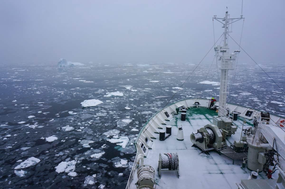 My Antarctic trip which best describes Antarctica