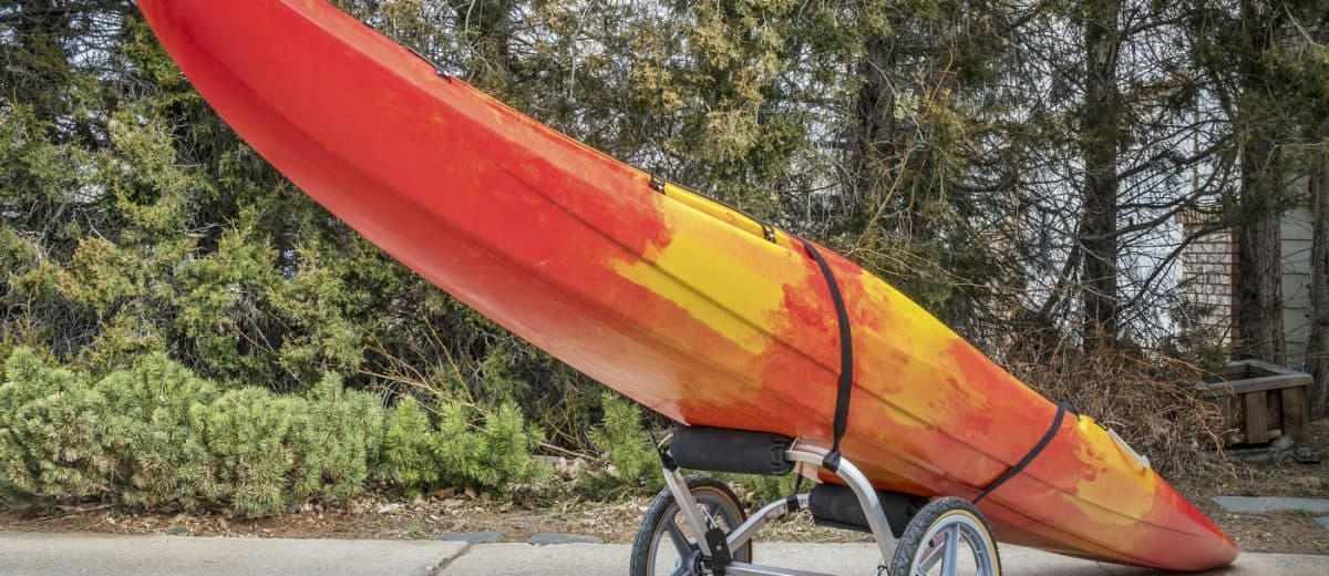 Ocean Kayak Wheel Cart