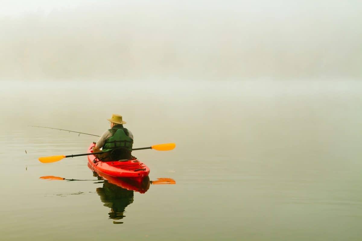 best kayak paddle for fishing