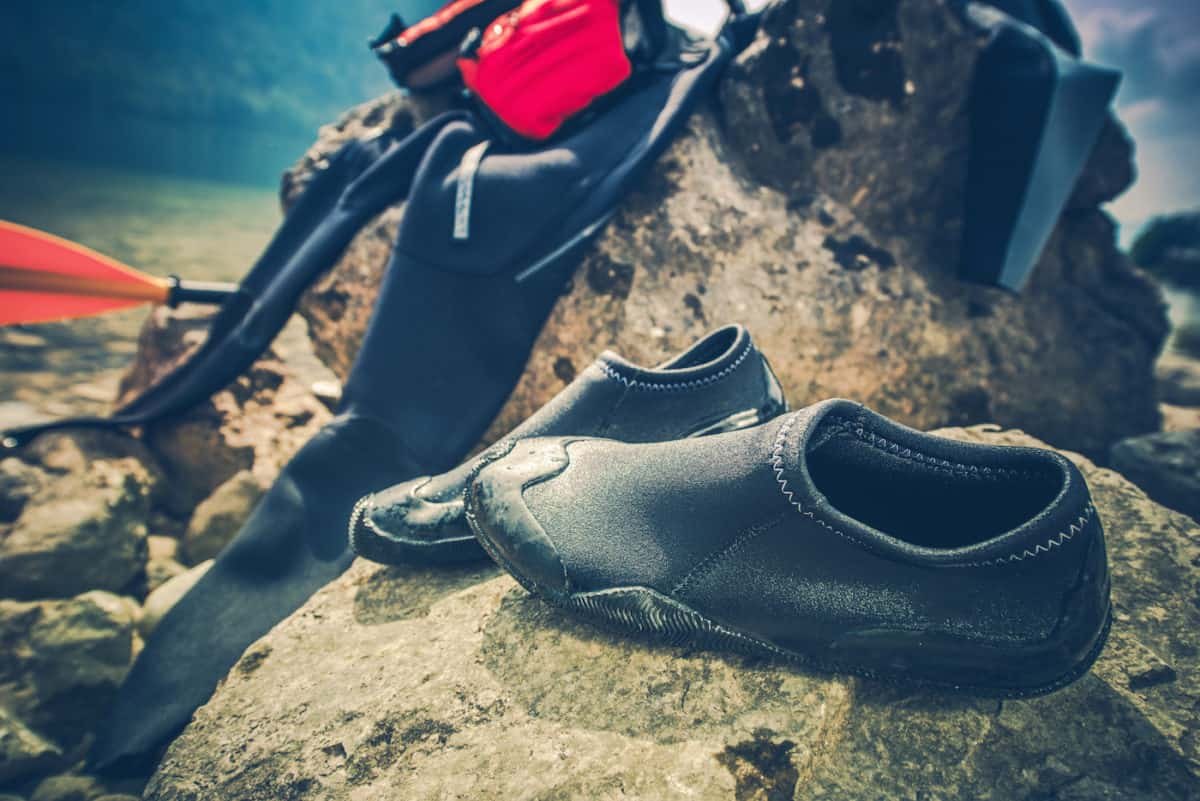 best kayaking shoes