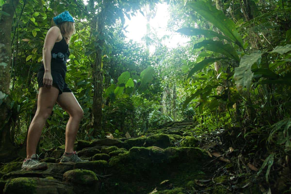 Hiking to the Ciudad Perdida (Lost City) in Colombia