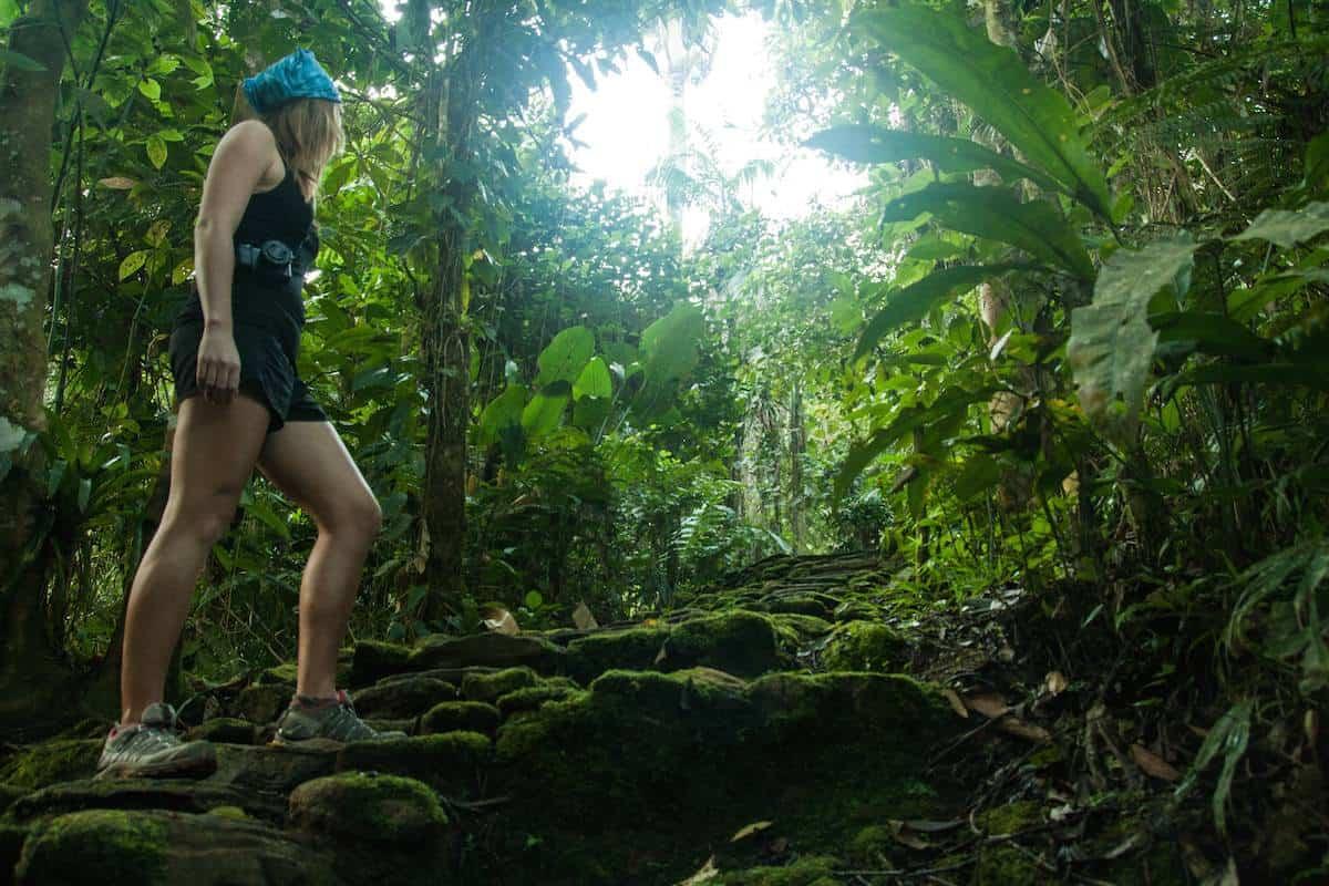 Hiking Lost City Trek Ciudad Perdida in Colombia