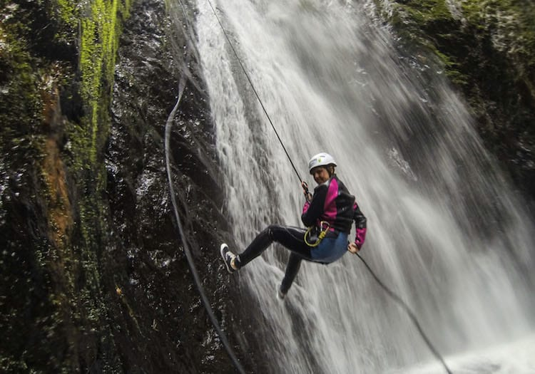 Canyoning in Baños
