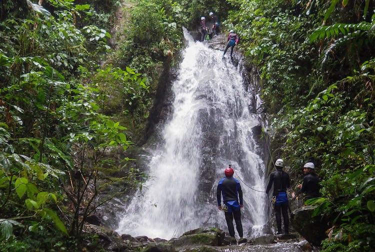 Canyoning in Baños