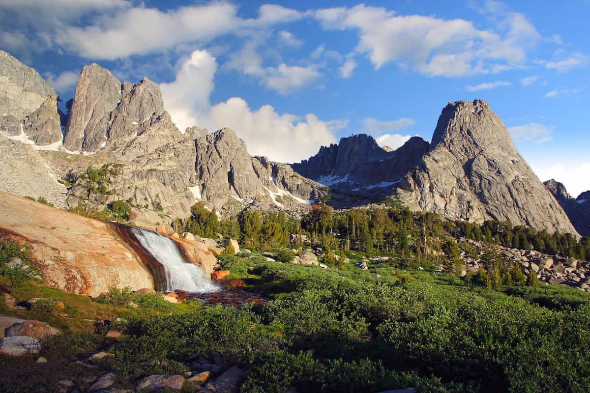 Cirque of the Towers, Wind River Range, Wyoming, USA