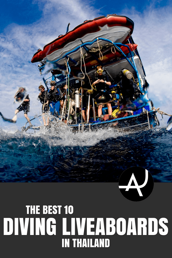 Best Thailand Liveaboard Diving Trips