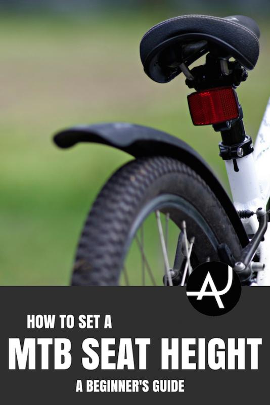 How To Set The Mountain Bike Seat Height The Adventure