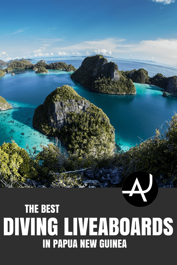 Papua New Guinea Liveaboard - Best Scuba Diving Destinations - Diving Bucket List - Adventure Vacations - Beautiful Locations and Places to Dive