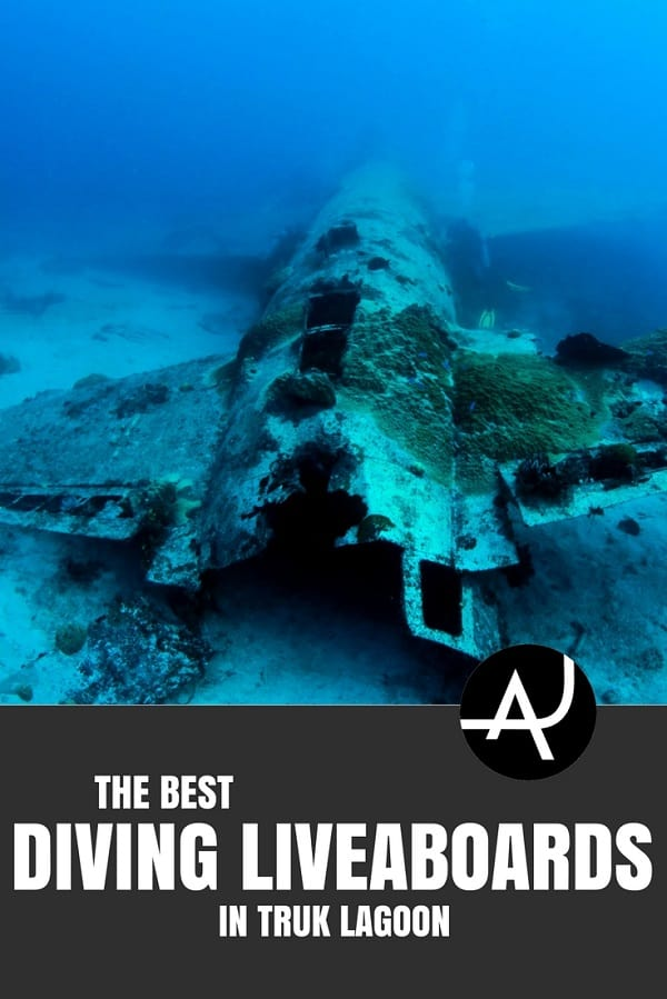 Truk Lagoon Liveaboard - Best Scuba Diving Destinations - Diving Bucket List - Adventure Vacations - Beautiful Locations and Places to Dive