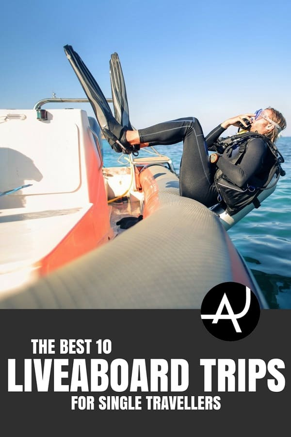 Diving Liveaboards for Single Travelers - Best Scuba Diving Destinations - Diving Bucket List - Adventure Vacations - Beautiful Locations and Places to Dive
