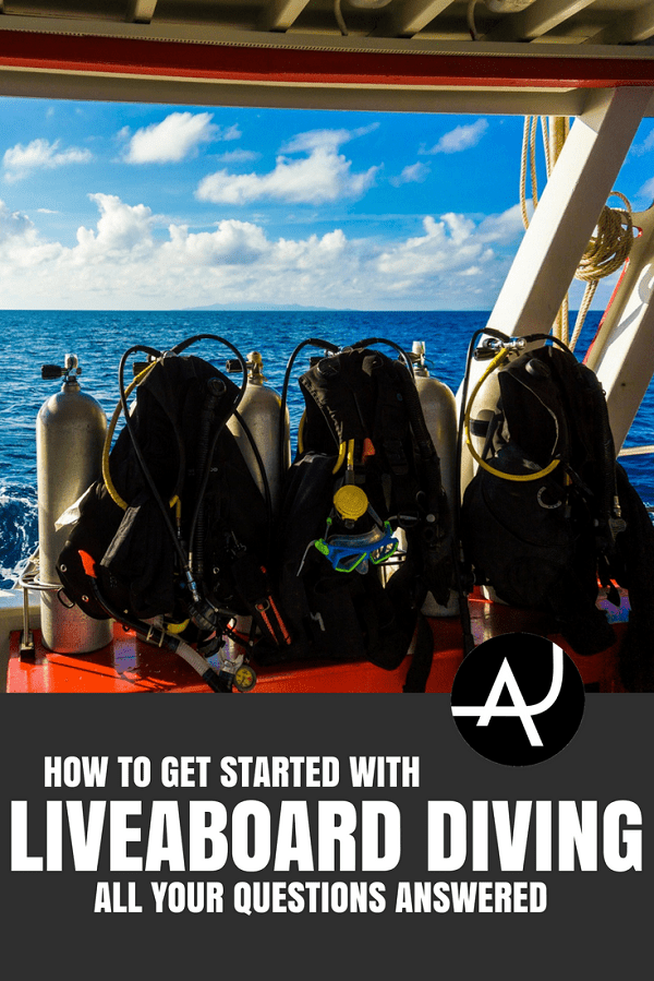 How to Get Started with Liveaboard Diving - Best Scuba Diving Destinations - Diving Bucket List - Adventure Vacations - Beautiful