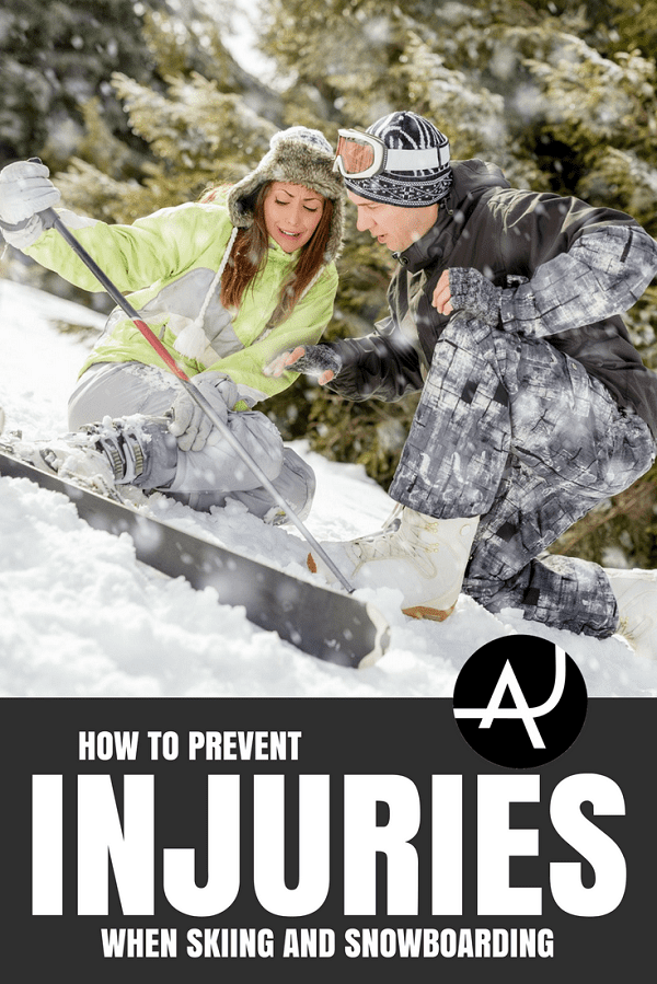 Ski and Snowboarding Injuries - Skiing Tips for Beginners, Intermediate and Advanced - Best Ski and Snowboard Gear - Ski Clothes For Women, Men and Kids