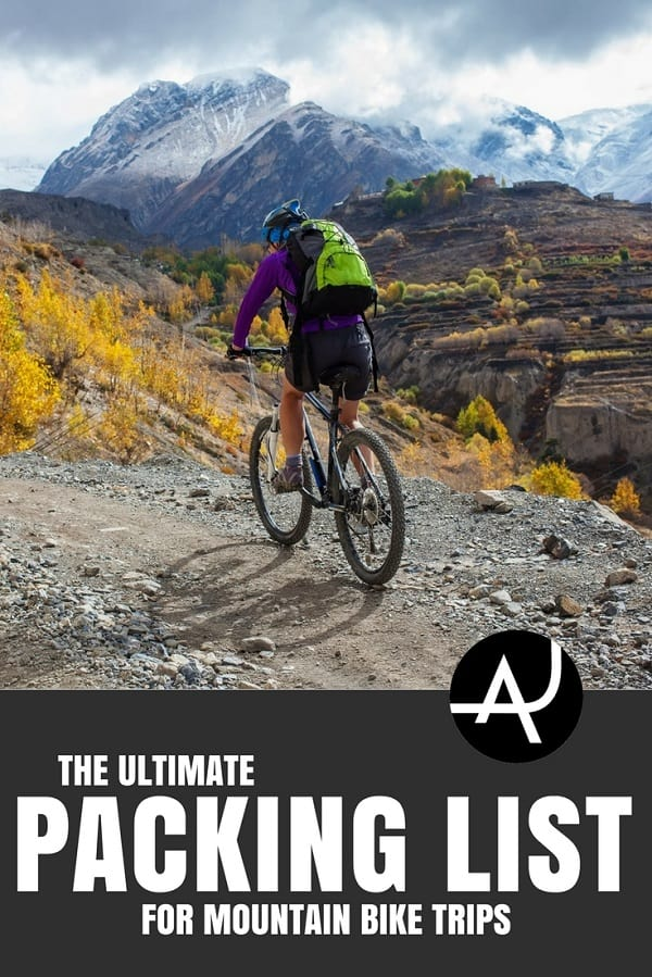 the ultimate mountain biking gear list the adventure junkies. Black Bedroom Furniture Sets. Home Design Ideas