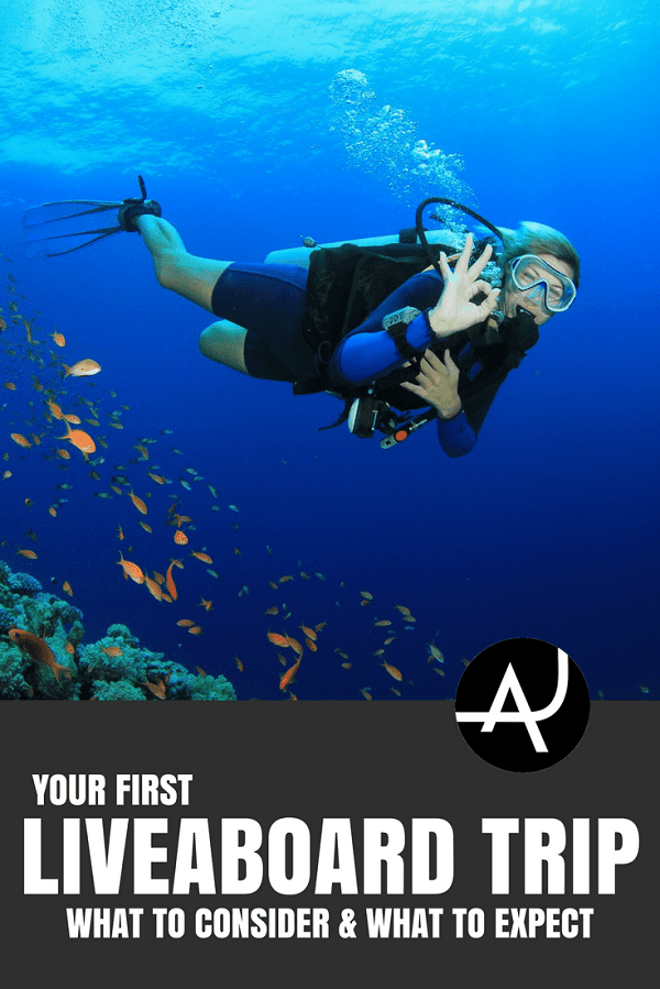 First Liveaboard Trip - Best Scuba Diving Destinations - Diving Bucket List - Adventure Vacations - Beautiful Locations and Places to Dive