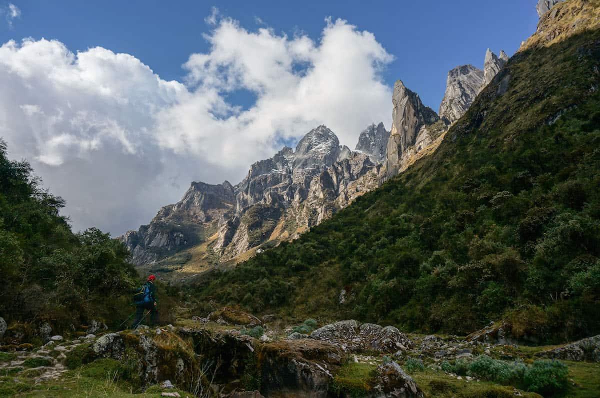 Choquequirao to Vilcabamba trek