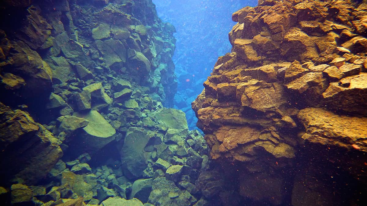 Diving Silfra Thingvellir - Iceland