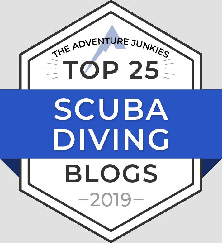 Scuba Blog Badge