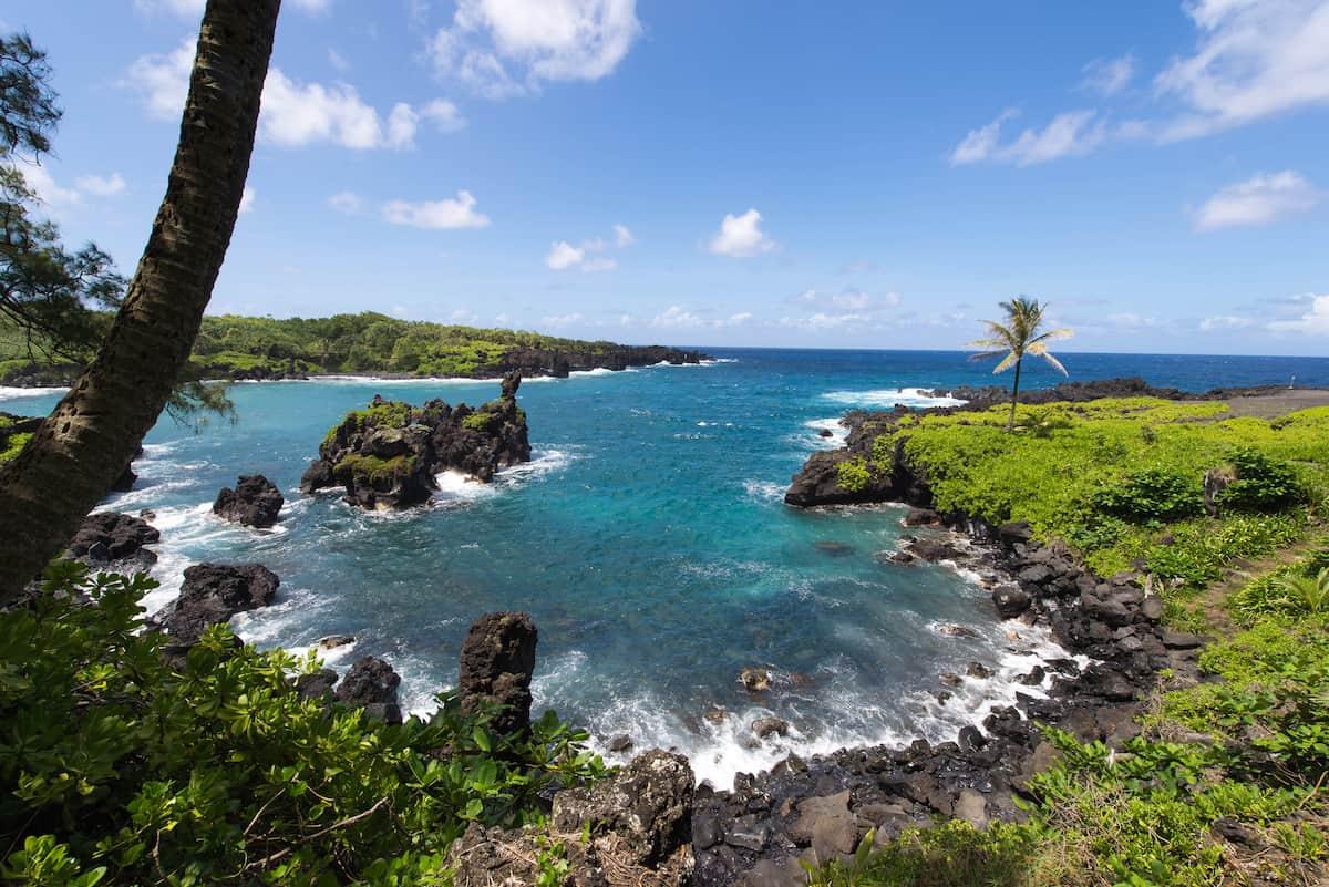 Hana Waianapanapa Coastal Trail - Hawaii