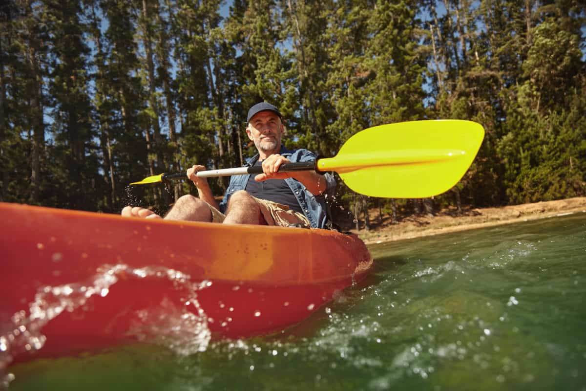 how to size a kayak paddle