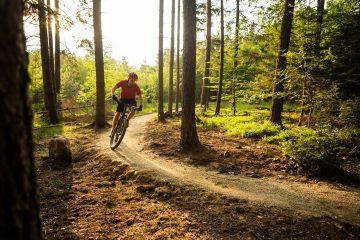 how to pump a mountain bike