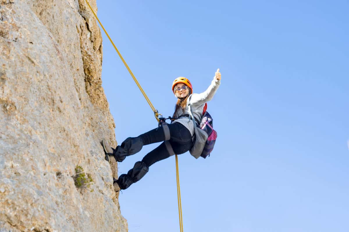 Backup Image How To Rappel A Practical Guide The Adventure Junkies