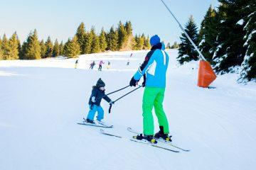 how to ski backwards