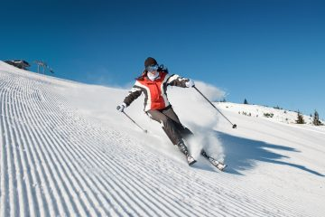 how to turn on skis