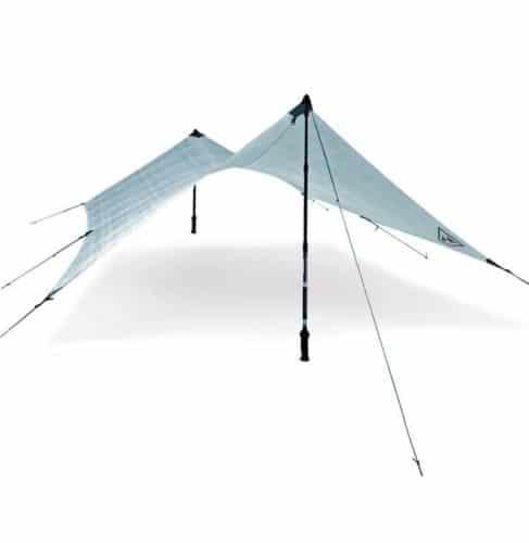 Hyperlite Mountain Gear's Echo 2 Catenary Cut Tarp