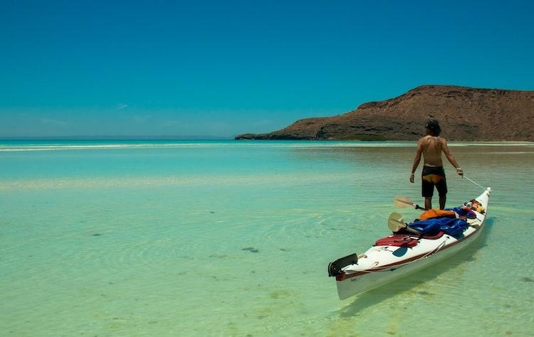 Kayaking Sea of Cortez