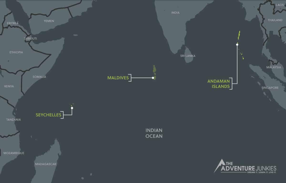 Indian Ocean Scuba Diving Spots
