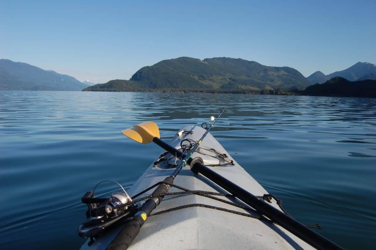 kayak fishing rigging