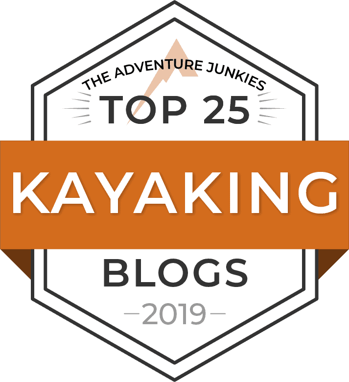 Best Kayaking Blog Badge