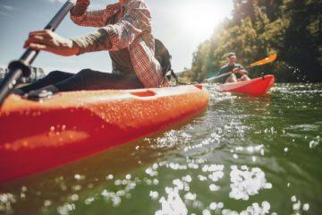 kayaking books
