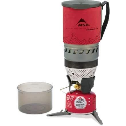 MSR Windburner canister stove