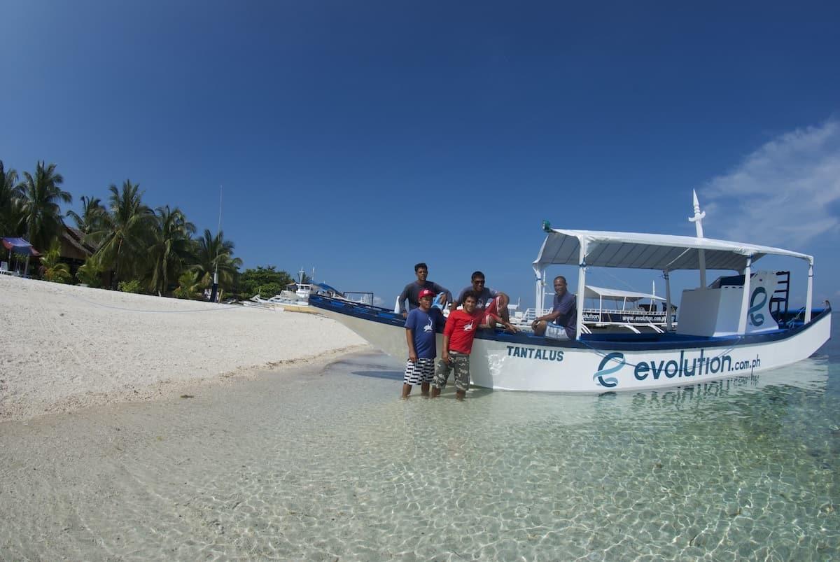 Evolution Diving in Malapascua