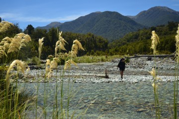 How to cross a river while hiking