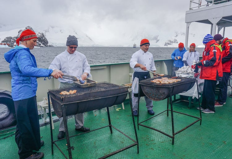 One Ocean Expeditions Food