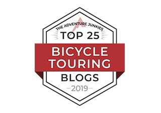 Top Bicycle Touring Blogs Badge