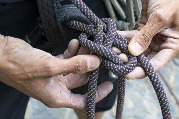 rock climbing knots