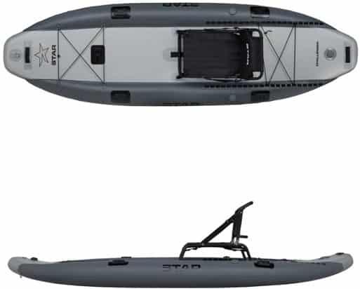 STAR Challenger Sit-On-Top Inflatable Kayak